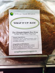 Wrap-it-up raw wraps