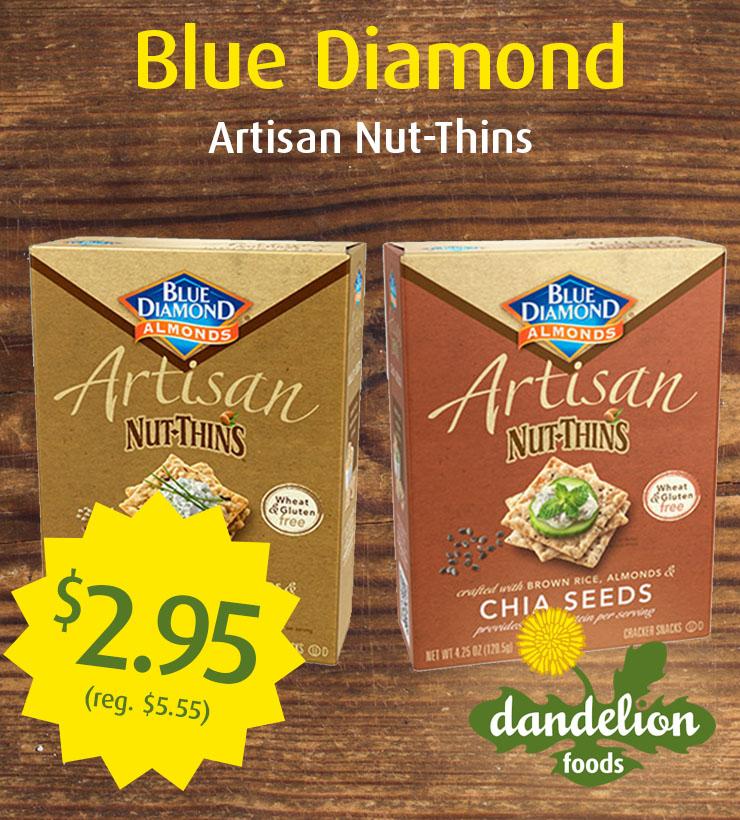 Nut thins on sale!