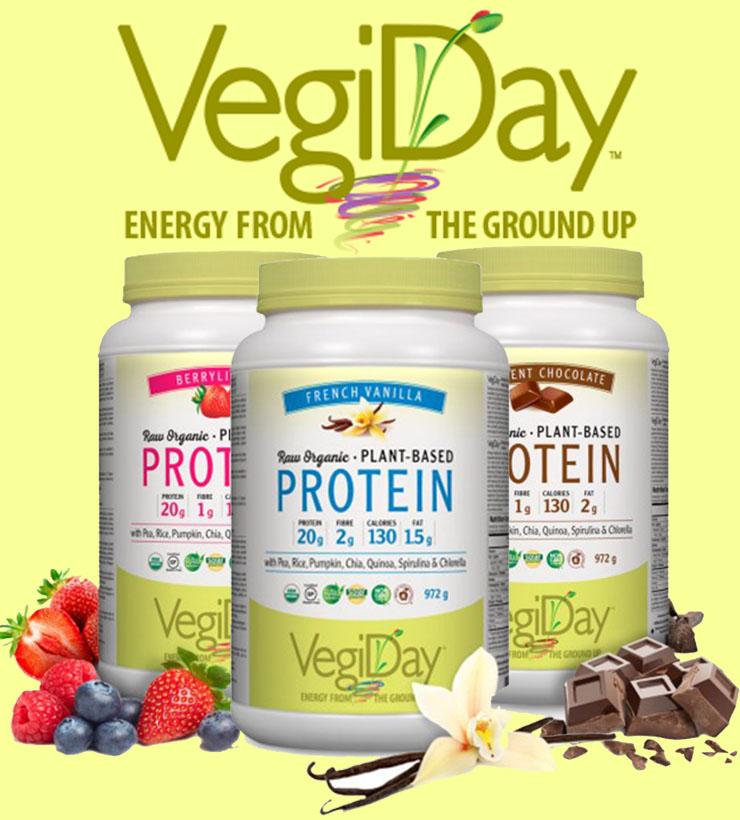 VegiDay - raw, plant-based protein